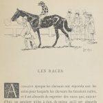 Caran d'Ache in À cheval — Baron de Vaux