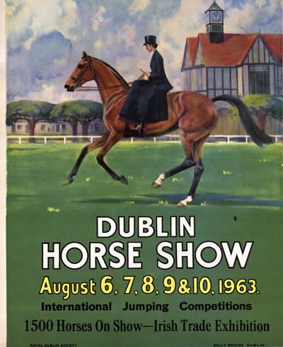 Dublin Horse Show. Archives 1963
