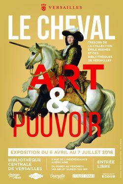 """Versailles, exposition """"Le Cheval Art & Pouvoir"""""""