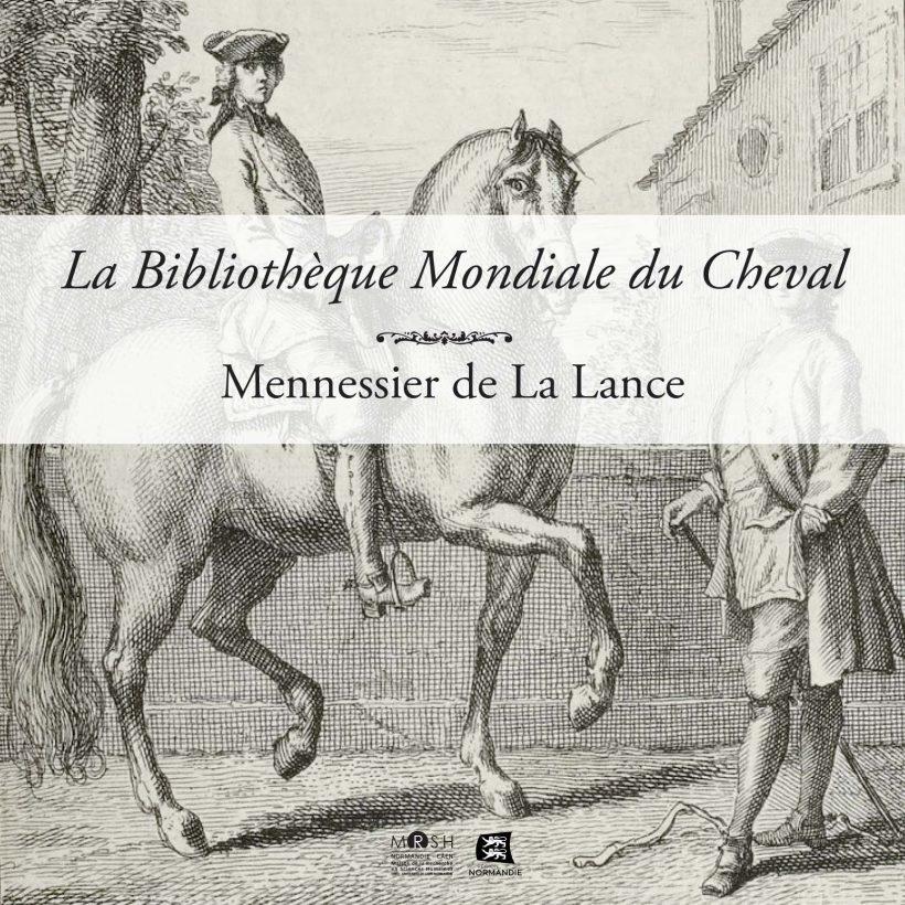 Livret de la Bibliothèque Mondiale du Cheval — Mennessier de La Lance