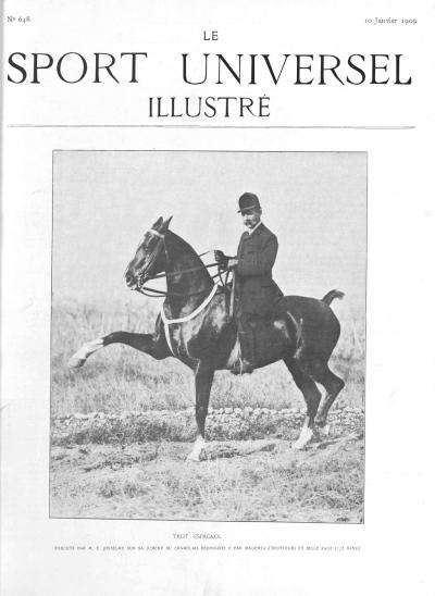 Le Sport Universel Illustré, N°648 - 10 janvier 1909