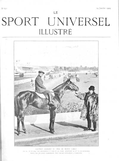 Le Sport Universel Illustré, N°650 - 24 janvier 1909