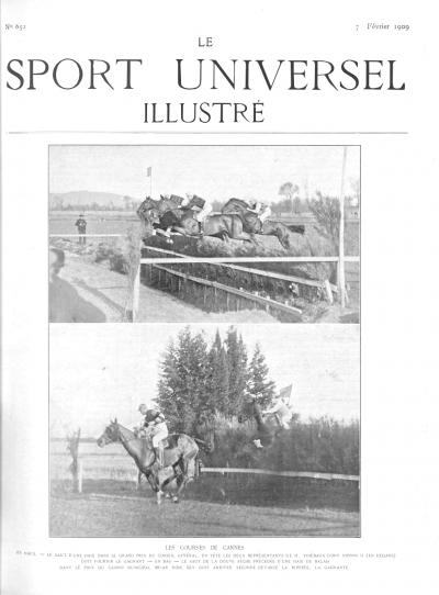 Le Sport Universel Illustré, N°652 - 7 février 1909