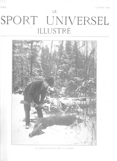 Le Sport Universel Illustré, N°653 - 14 février 1909