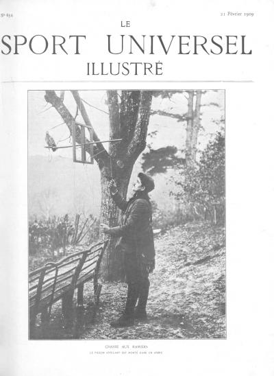 Le Sport Universel Illustré, N°654 - 21 février 1909