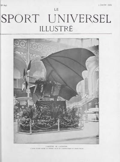 Le Sport Universel Illustré, N°647 - 3 janvier 1909