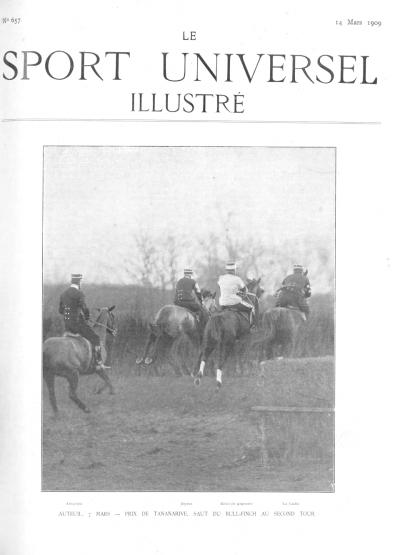 Le Sport Universel Illustré,  N°657 - 14 mars 1909