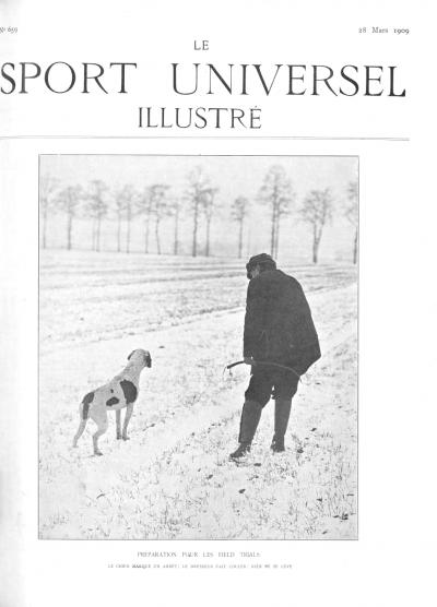 Le Sport Universel Illustré,  N°659 - 28 mars 1909