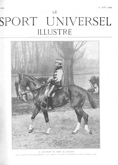 Le Sport Universel Illustré,  N°661 - 11 avril 1909