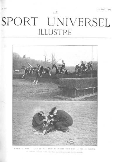 Le Sport Universel Illustré,  N°662 - 18 avril 1909