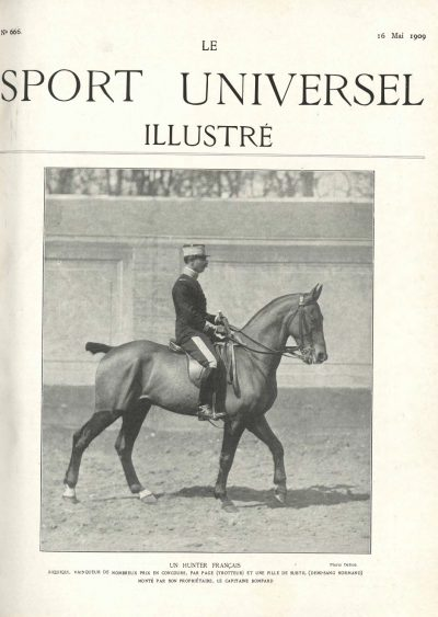 Le Sport Universel Illustré,  N°666 - 16 mai 1909