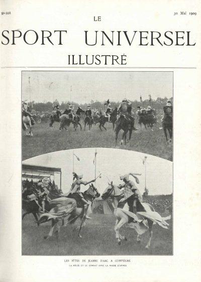 Le Sport Universel Illustré,  N°668 - 30 mai 1909