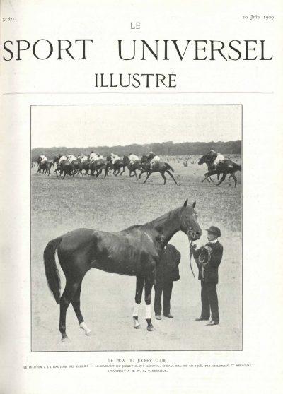 Le Sport Universel Illustré,  N°671 - 20 juin 1909
