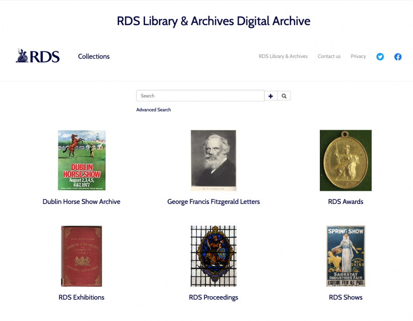 RDS Library & Archives Digital Archive