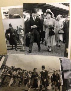 Archives Deauville - La reine Elisabeth II