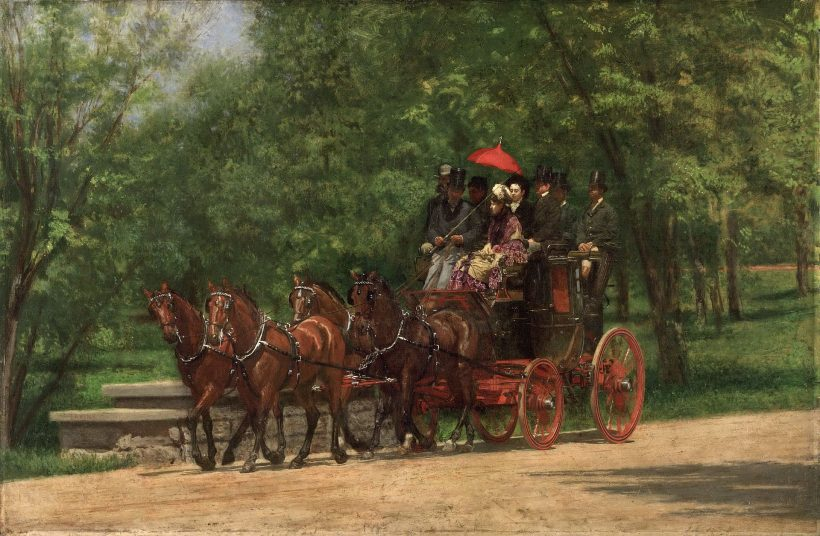 The Fairman Rogers Four-in-Hand (1879-80) by Thomas Eakins.